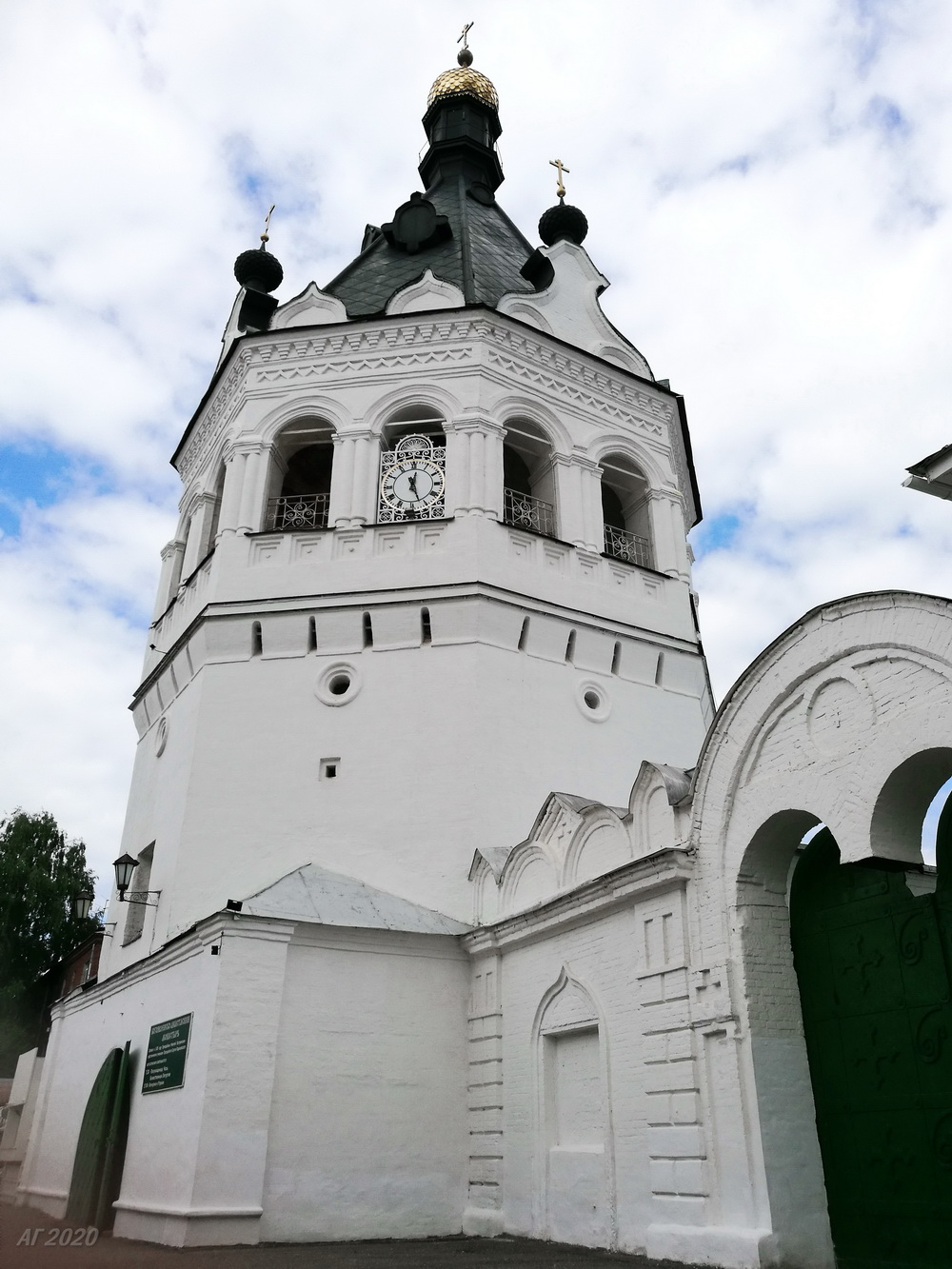Богоявленско-Анастасиин женский монастырь, Кострома, 02.08.2020