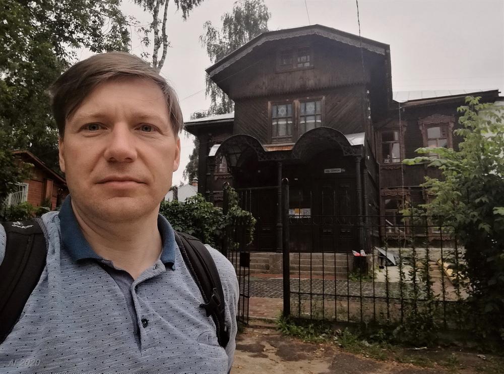 А. Гайдуков. Костромская синагога, Кострома, 02.08.2020