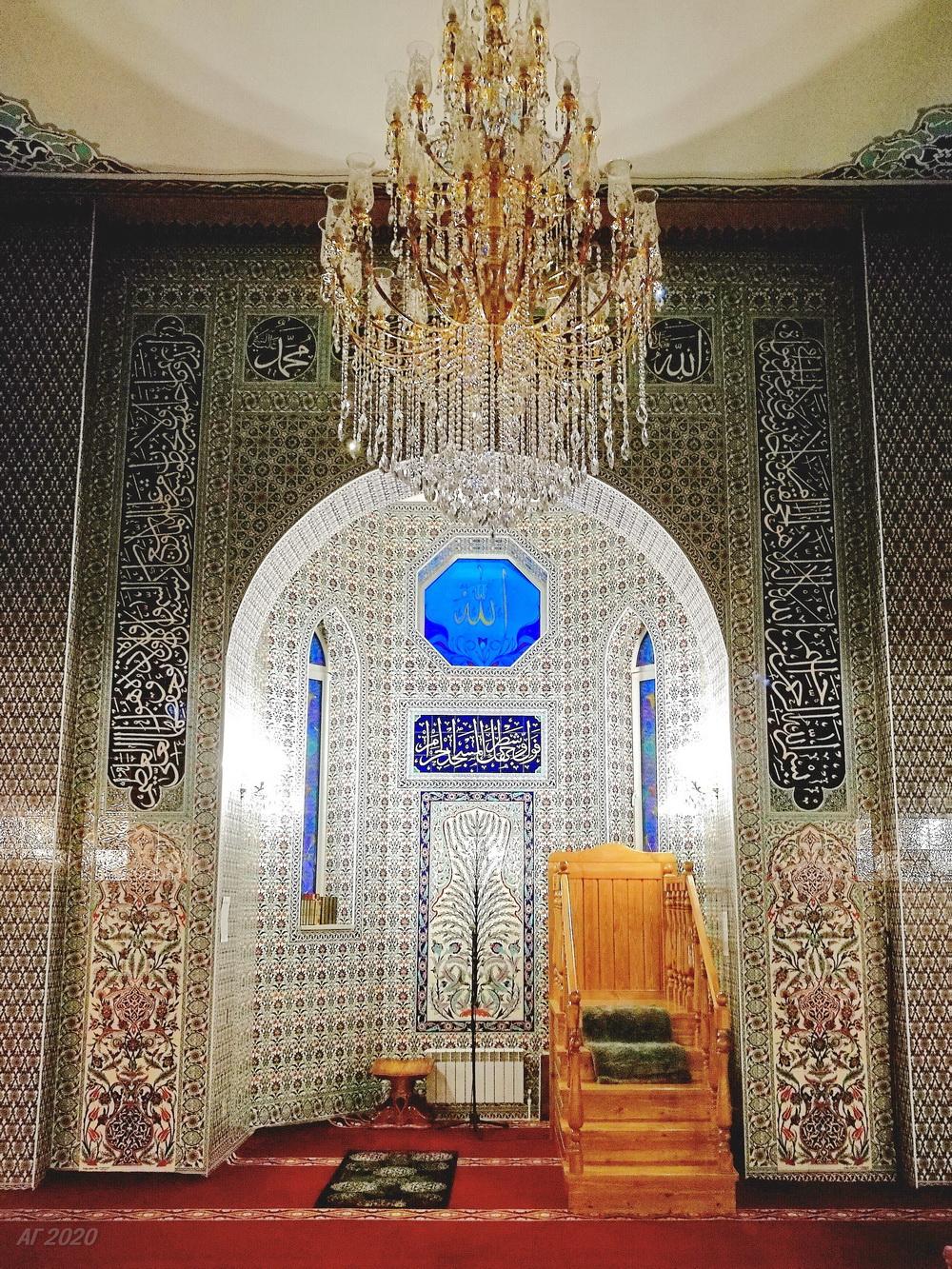 Михраб. Костромская мемориальная мечеть. Кострома, 02.08.2020