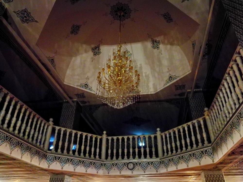 Балкон. Костромская мемориальная мечеть. Кострома, 02.08.2020