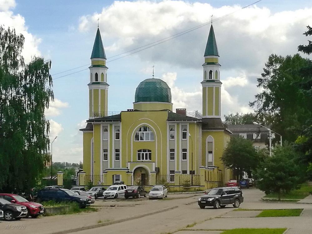 Костромская мемориальная мечеть. Кострома, 03.08.2020
