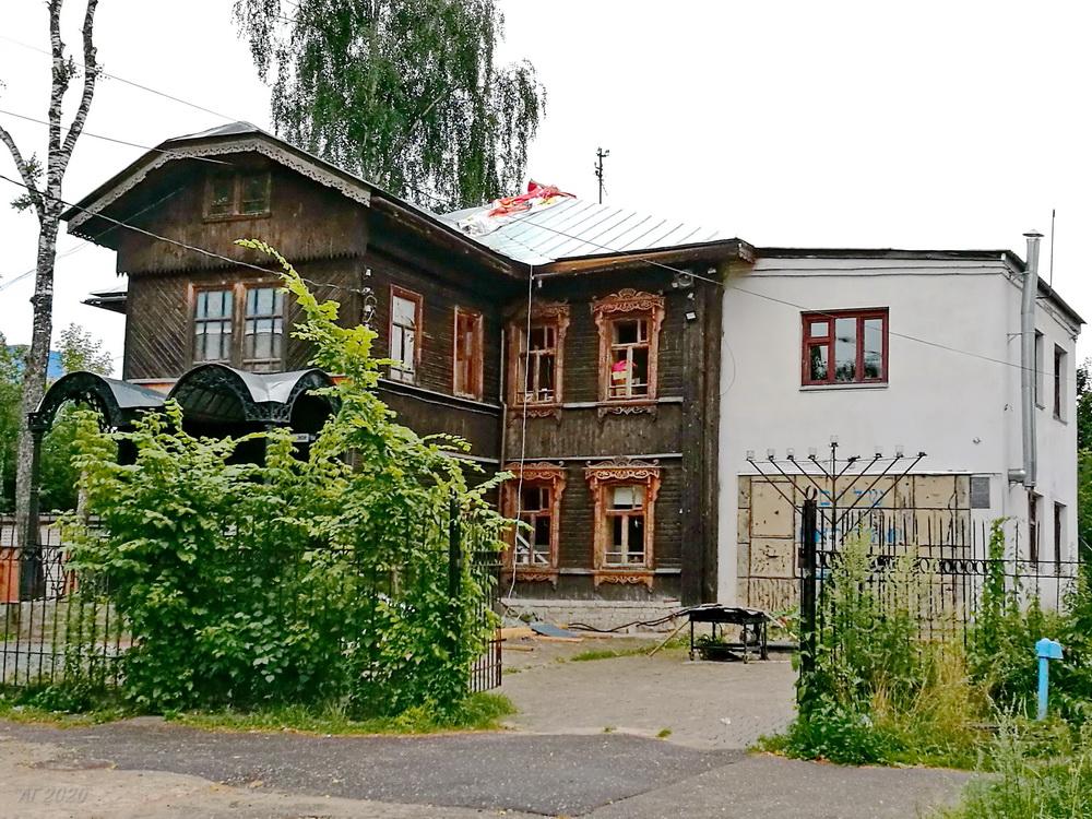Костромская синагога, Кострома, 02.08.2020