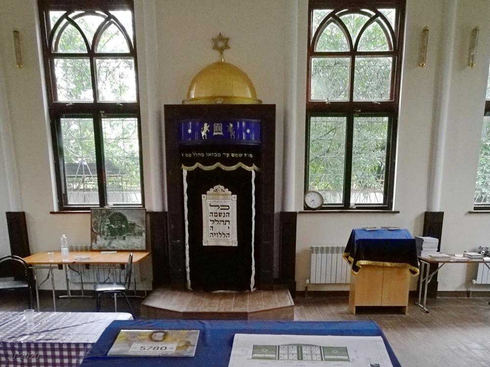 Арон кодеш. Костромская синагога, Кострома, 02.08.2020