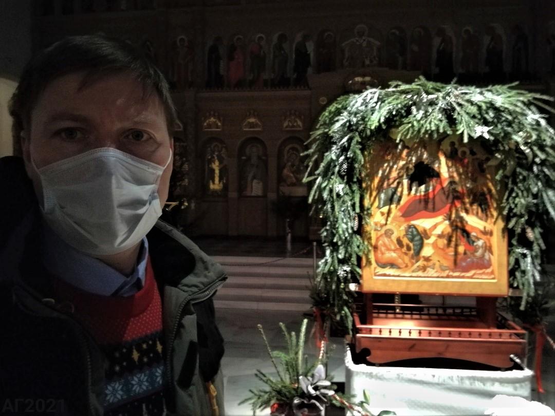 Рождественское убранство Феодоровский собор, 07.01.2021