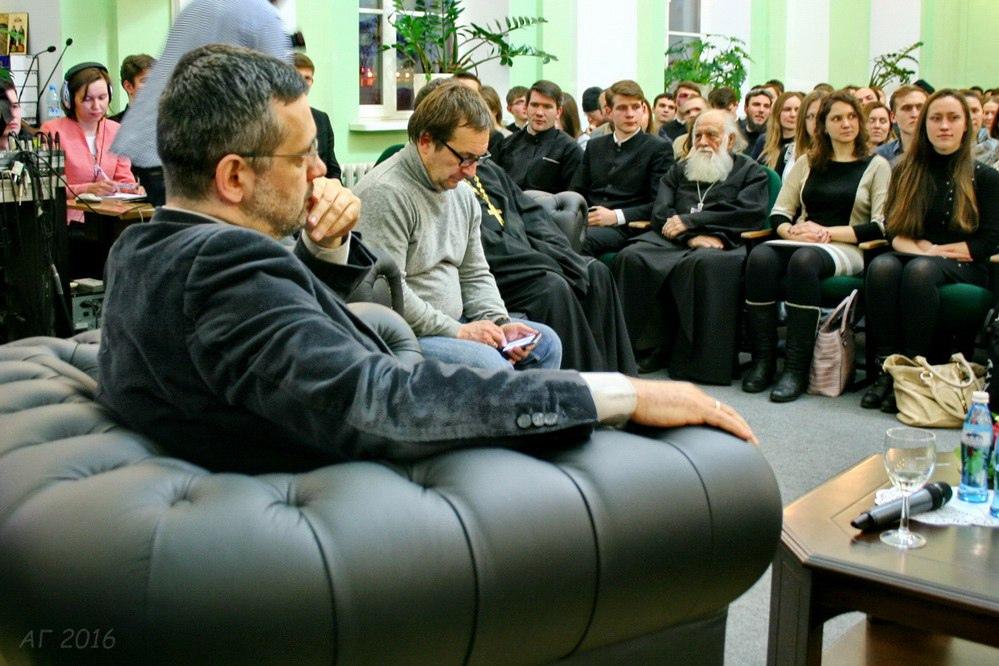 Встреча с Владимиром Легойдой в СПбДА, 19.02.2016
